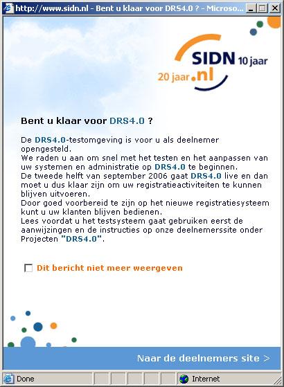 SIDN - Bent u al klaar voor DRS4.0