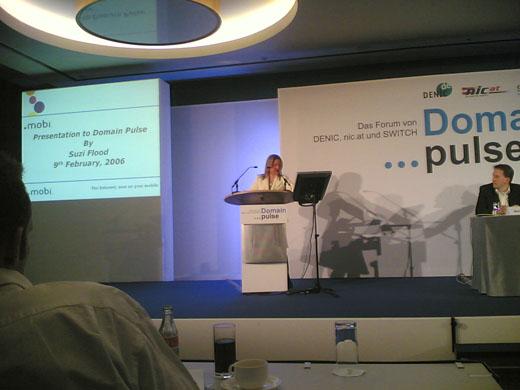 Dotmobi presentatie van Suzanne Flood van mTLD Ltd
