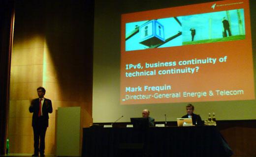 IPv6 Summit: Presentatie Mark Frequin