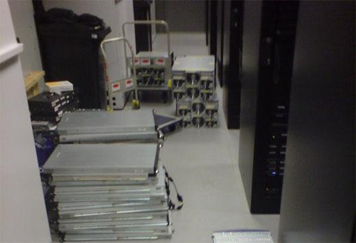Verhuizing van Hyves (verhyving) 18 november 2006