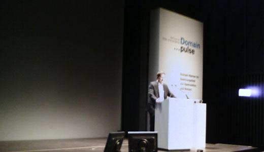 Domain Pulse 2007 - Presentatie van Marius Würzner, directeur Sedo