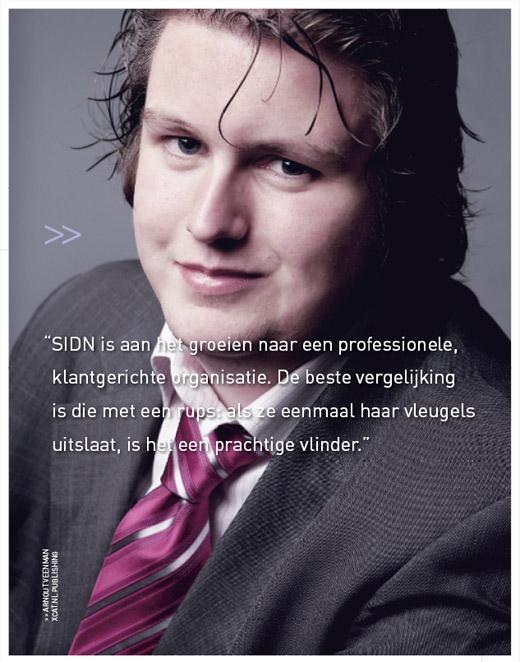 SIDN jaarveslag 2006 - Arnout Veenman, xCAT.nl Publishing