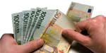 Euro's, geld tellen