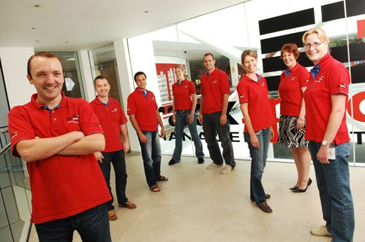 Rackspace Managed Hosting: Benelux team
