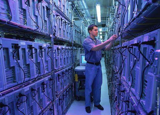 Op de koffie bij Rackspace Managed Hosting: Datavloer Rackspace