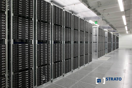 STRATO datacentrum datavloer