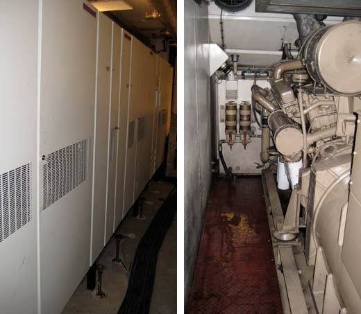 GrafiX datacentrum: UPS en Generator