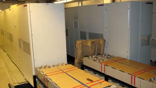 GrafiX datacentrum: UPS en accu's