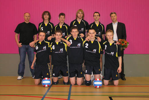 SIDN sponsort volleybalvereniging in Aalten