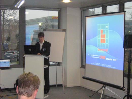 Benesol nieuwjaars evenement: Presentatie Samuel De Wever