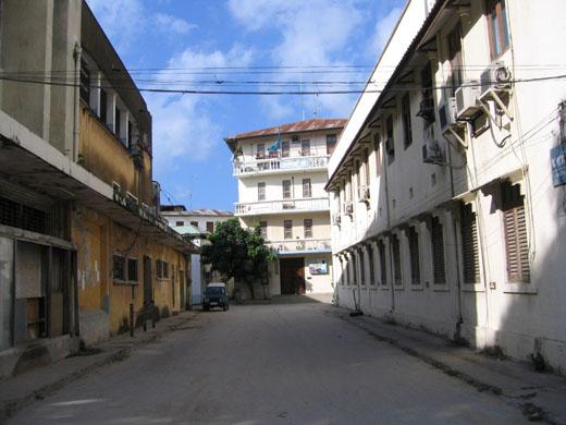 Zanlink kantoor in Zanzibar (Tanzania)
