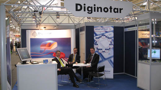 CeBIT 2008: DigiNotar met Extended Validation SSL (EV-SSL) Certificaten