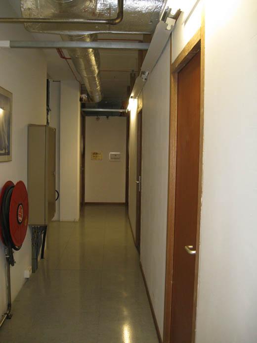 Databarn datacentrum: Gang van private suite datavloer