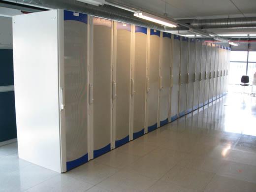 Databarn datacentrum: Shared colocatie datavloer