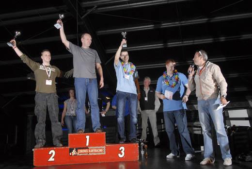 ISP Kartcompetitie 2008: Winnaars