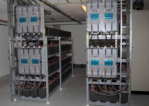 DCG Amsterdam: Batterij ruimte