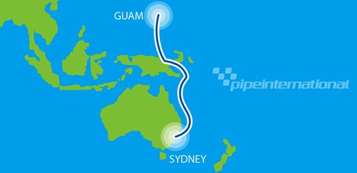 Volg de aanleg van de onderzeese PPC-1 kabel