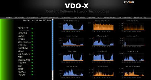 Jet Stream VDO-X: VDO-X Cockpit