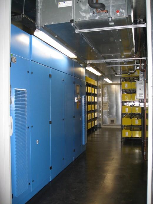 Easynet Amsterdam datacenter: UPS-systemen