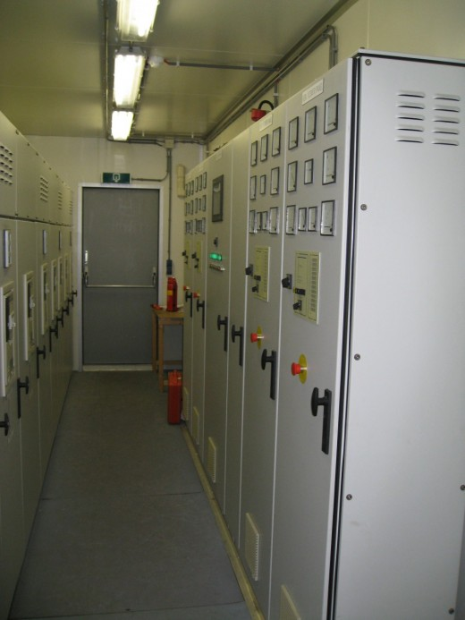 Easynet Amsterdam datacenter: Schakelsystemen