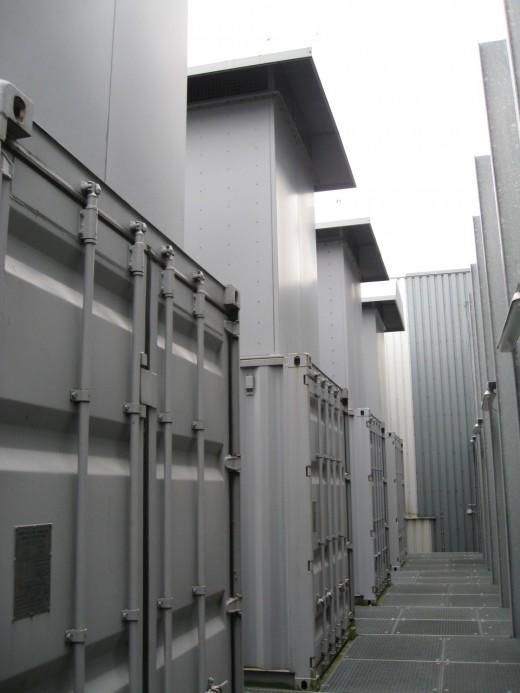 Easynet Amsterdam datacenter: Generatoren