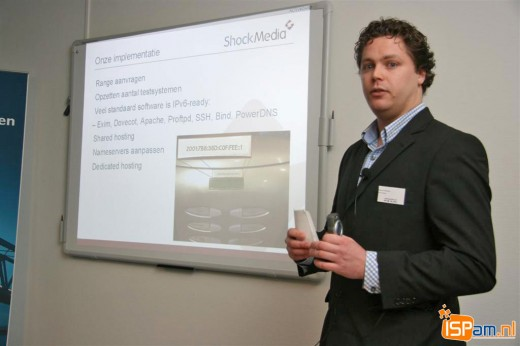 IPv6so: Erik-Jan Hofstede (Administrator, Shock Media)