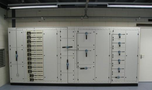 Solcon datacenter: Schakelbord
