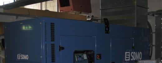 Solcon datacenter: generator