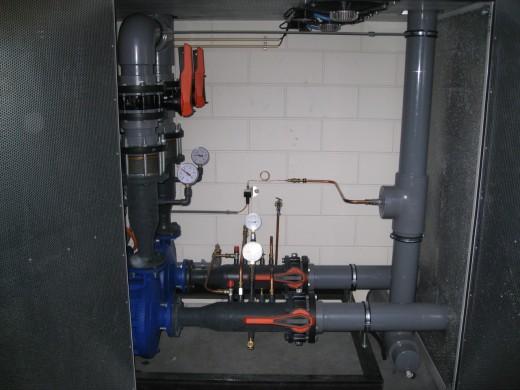 Soclon datacenter: waterpomp voor vrije koeling