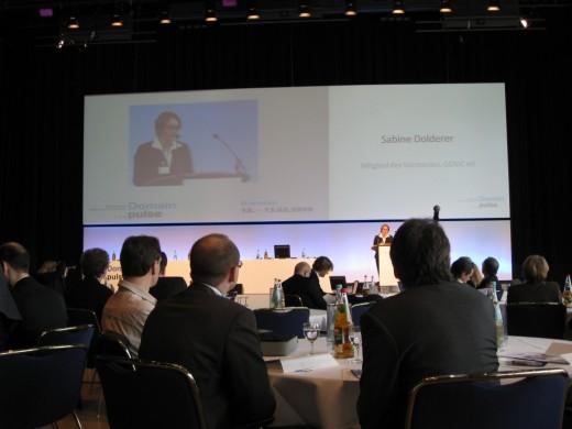 Domain pulse 2009: Opening door Sabine Dolderer (DeNIC)