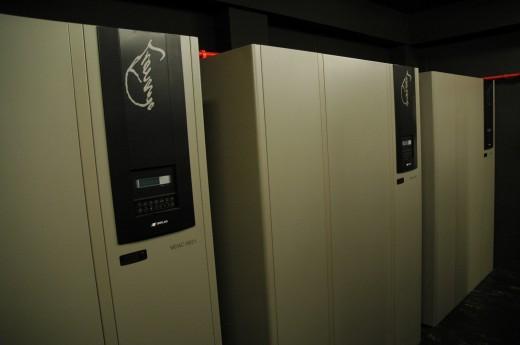 Diverse non-break UPS systemen van MGE voor de noodstroom