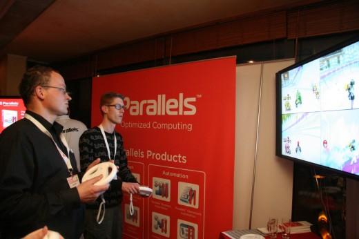Dataman ISP Kartcompetitie 2009: Parallels Mario Kart
