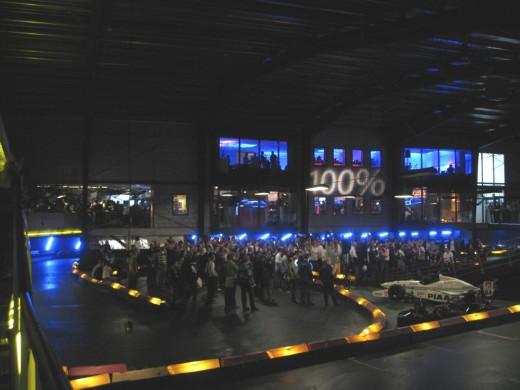 Dataman ISP Kartcompetitie 2009: Opening