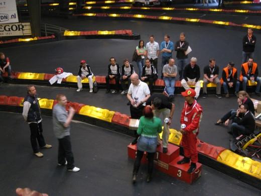 Dataman ISP Kartcompetitie 2009: Zoenen!