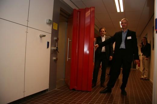 Opening van de suite door Peter Spekreijse (Echelon)