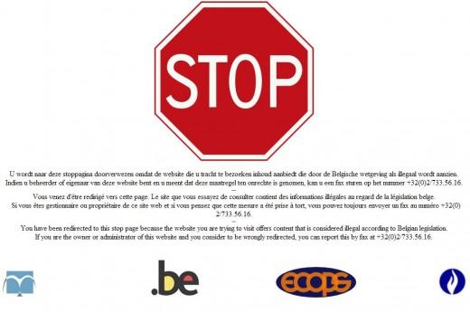 Belgische censuur