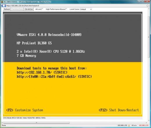 Native IPv6 support op de Management interface van ESXi 4