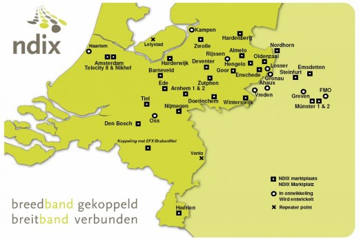 Netwerkkaart NDIX 22-01-2009