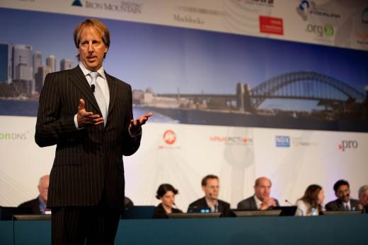 Nieuwe ICANN president en CEO Rod Beckstrom