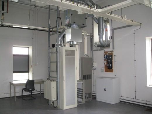 Alticom: Voorbeeld van kast met koeling met buitenlucht