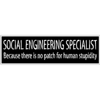 via http://www.ozsticker.com/geek/16-social-engineering-specialist.html
