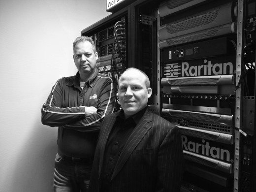 Paul Bekema (links) en Rob Suijkerbuijk van Raritan