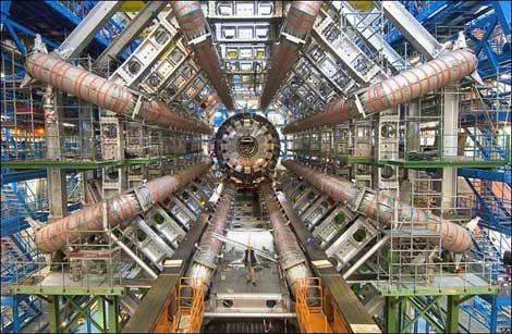 De LHC, de deeltjesversneller van CERN