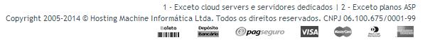 Hosting Machine adres Brazilie