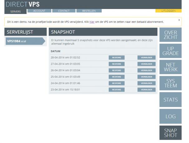 directvps-snapshot