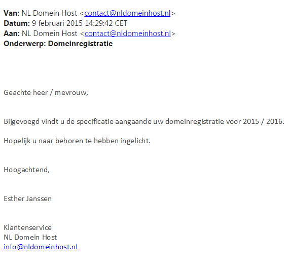 nl-domein-host-email