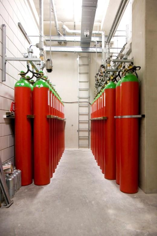 dp-vesda-gasblusinstallatie