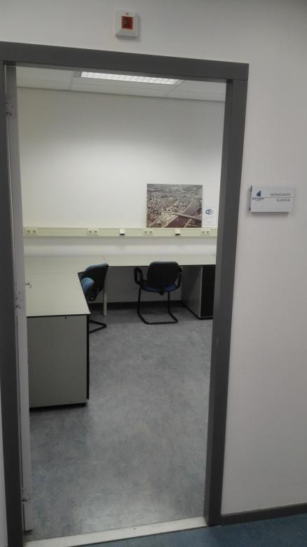 Zo ziet de ruimte waar DCA zijn klanten ontvangt er uit